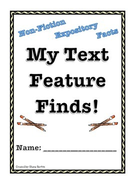 Text Feature Book
