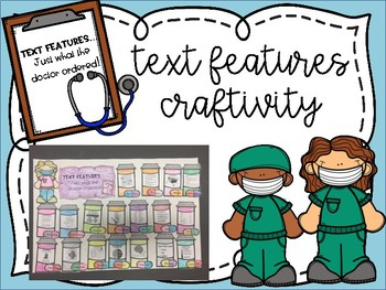 Text Feature Doctor Craftivity