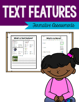 Text Feature - Formative Assessment