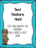 Text Feature Hunt: Heading