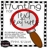 Text Feature Hunt-Nonfiction