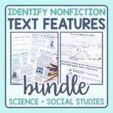 Text Features Identification in Nonfiction Passages: Science & Social Studies