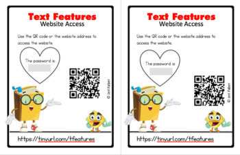Text Feature Interactive Website Access