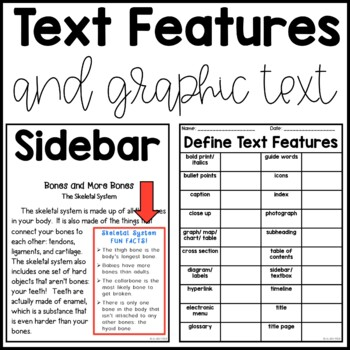 Text Feature Literacy Bundle