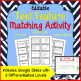 Text Feature Matching Activity