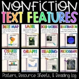 Text Feature Posters, Resource Sheets, and Google Slides Activity