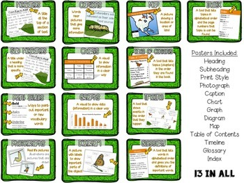 Text Feature Posters and Build-Your-Own-Anchor Chart