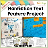 Text Feature Project and Text Structure Project Report Dis