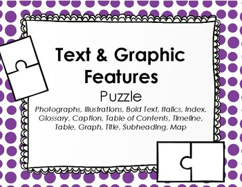 Text Feature Puzzle