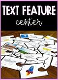 Text Feature Puzzle Piece Center