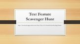 Text Feature Scavenger Hunt-Rl.3.7, RI.4.7