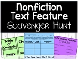Text Feature Scavenger Hunt
