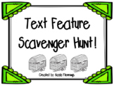 Text Feature Scavenger Hunt Game RI.5