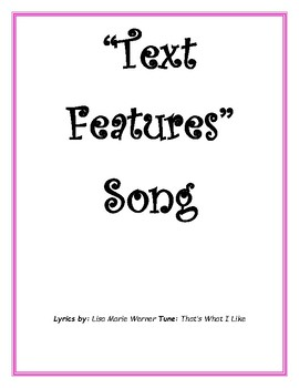 Text Feature Song