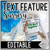 Text Feature Surgery | EDITABLE