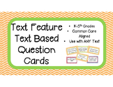 Text Feature Text Based Question Cards for Any Text