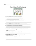 Text Feature Worksheet or Quiz