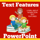 Text Features | 1st 2nd 3rd Grade | Nonfiction Text Featur