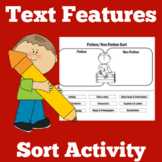 Text Features | 1st 2nd 3rd 4th Grade | Worksheet Activity