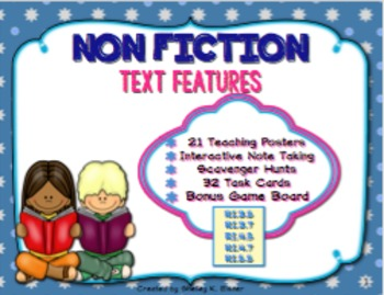 Text Features Teaching Resources Pack