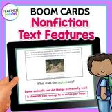 Nonfiction Text Features No Prep PPT + ADDED BONUS: NONFICTION BOOM CARDS