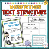 Text Structures Posters, Passages, and Graphic Organizers