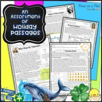 Text Features Activities ~ Christmas Reading Comprehension ~ Polar Animals