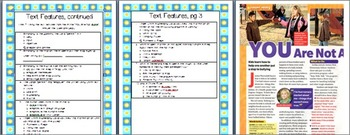 Text Features Activity/Assessment