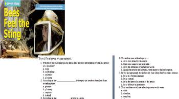 Text Features Article and Assessment Grades 3-6