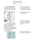 Text Features Assessment