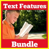 Text Features | Kindergarten 1st 2nd 3rd Grade | Nonfictio