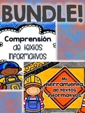Text Features BUNDLE - Comprensión de textos informativos {SPANISH}