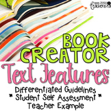 Text Features: Book Creator project