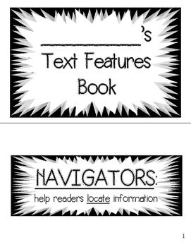 Text Features Booklet - Mustache Theme