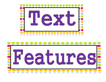 Text Features Bundle