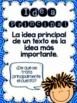 Text Features - Comprensión de textos informativos {SPANISH}