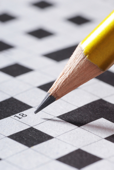 Text Features Crossword Puzzle