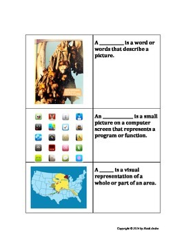 Text Features EXCELLENT assessment and activities, 2nd Grade Common Core