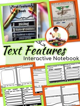 Text Features Flip Book