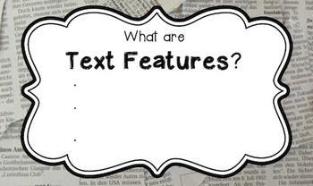 Text Features Flipchart