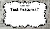 Text Features Flipchart