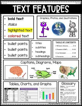 Text Features Poster FREE