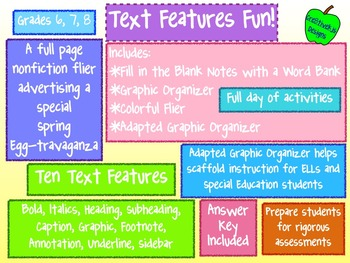 Text Features Fun!