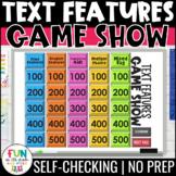 Nonfiction Text Features Game Show | Digital | Test Prep R