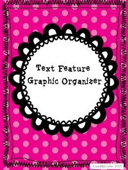 Text Features Graphic Organizer Author Characters Setting