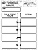 Text Features Graphic Organizers-PDF & Digital PNGs