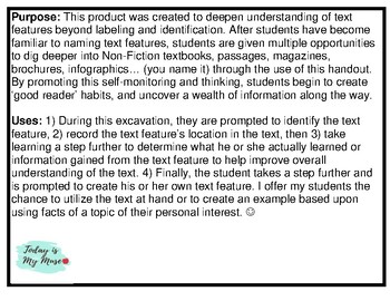 Text Features: Hunt and Learned- Uncover a deeper understanding of Text Features