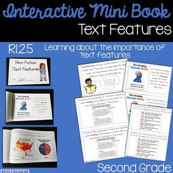 Text Features Interactive Mini Book {RI.2.5}