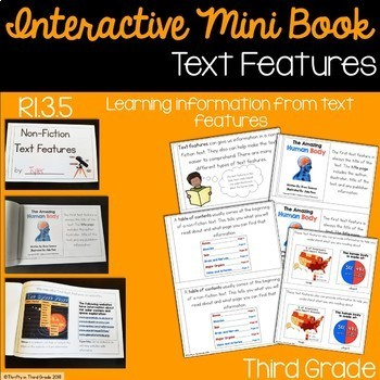 Text Features Interactive Mini Book {RI.3.5}