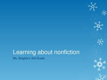 Text Features: Introducing nonfiction and text feature importance
